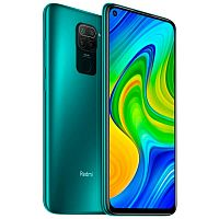 Смартфон Xiaomi Redmi Note 9 128GB/4GB Green (Зеленый) — фото